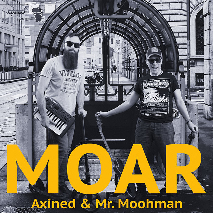 Axined & Mr. Moohman - Moar (Single)